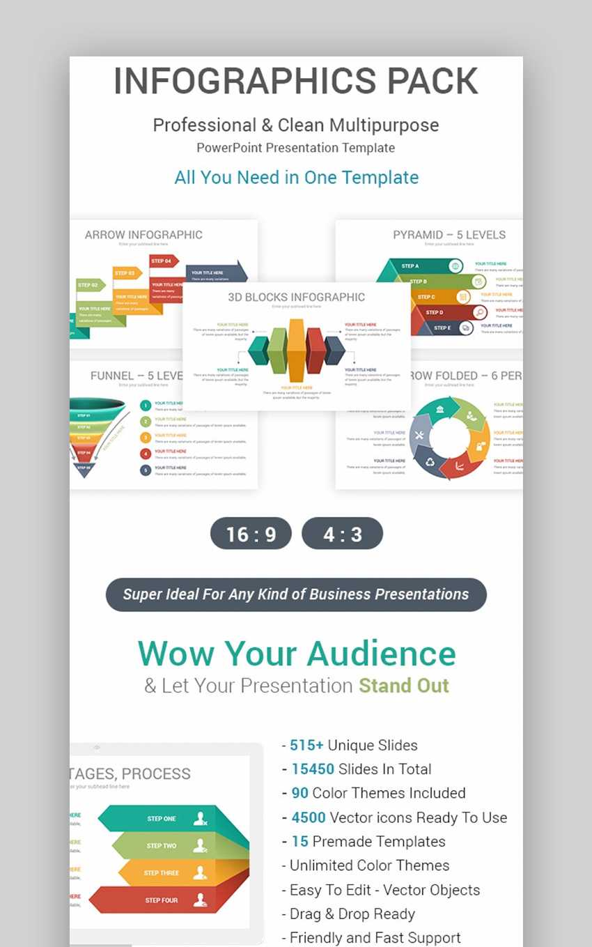 30 Best Infographic Powerpoint Presentation Templates—With pertaining to What Is A Template In Powerpoint