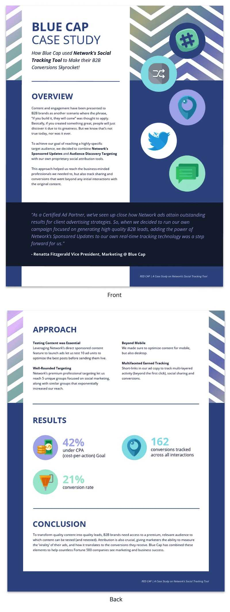 30+ Business Report Templates Every Business Needs - Venngage Throughout Company Progress Report Template