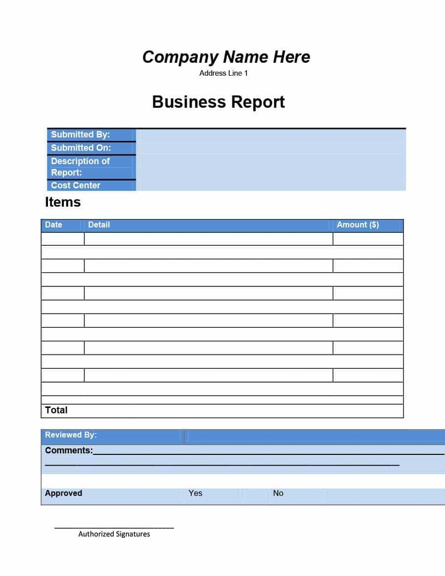 30+ Business Report Templates & Format Examples ᐅ Template Lab Pertaining To Company Progress Report Template