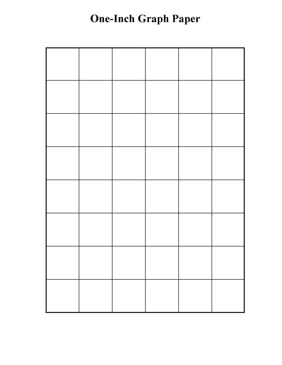 30+ Free Printable Graph Paper Templates (Word, Pdf) ᐅ throughout Blank Picture Graph Template