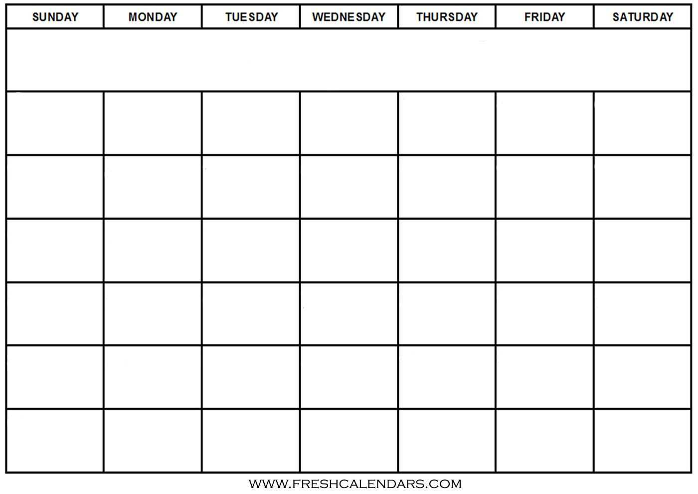 30 Print Free Calendar Template | Andaluzseattle Template with Blank Calender Template
