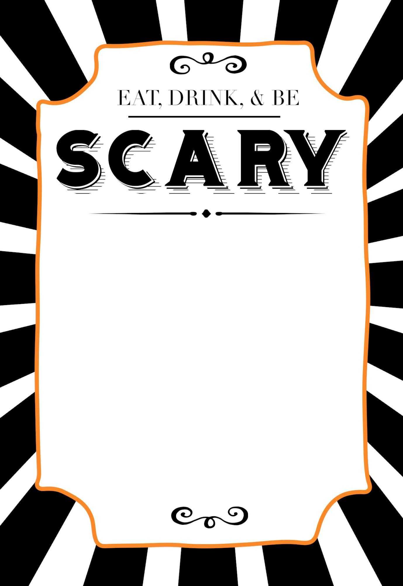 32 Free Halloween Invitation Templates   Usmlereview pertaining to Free Halloween Templates For Word