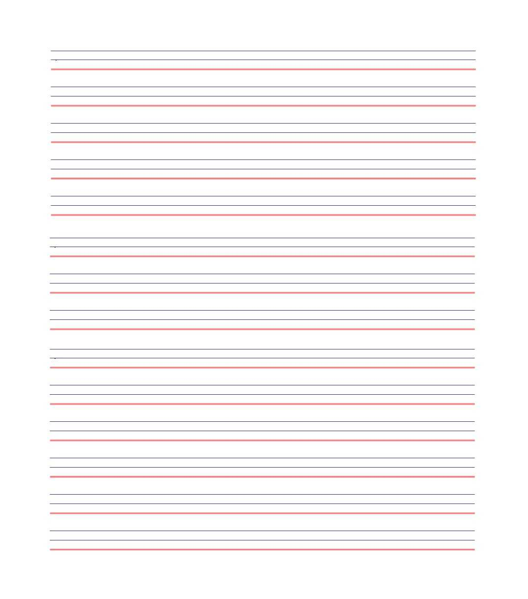 32 Printable Lined Paper Templates ᐅ Template Lab Throughout Ruled Paper Word Template