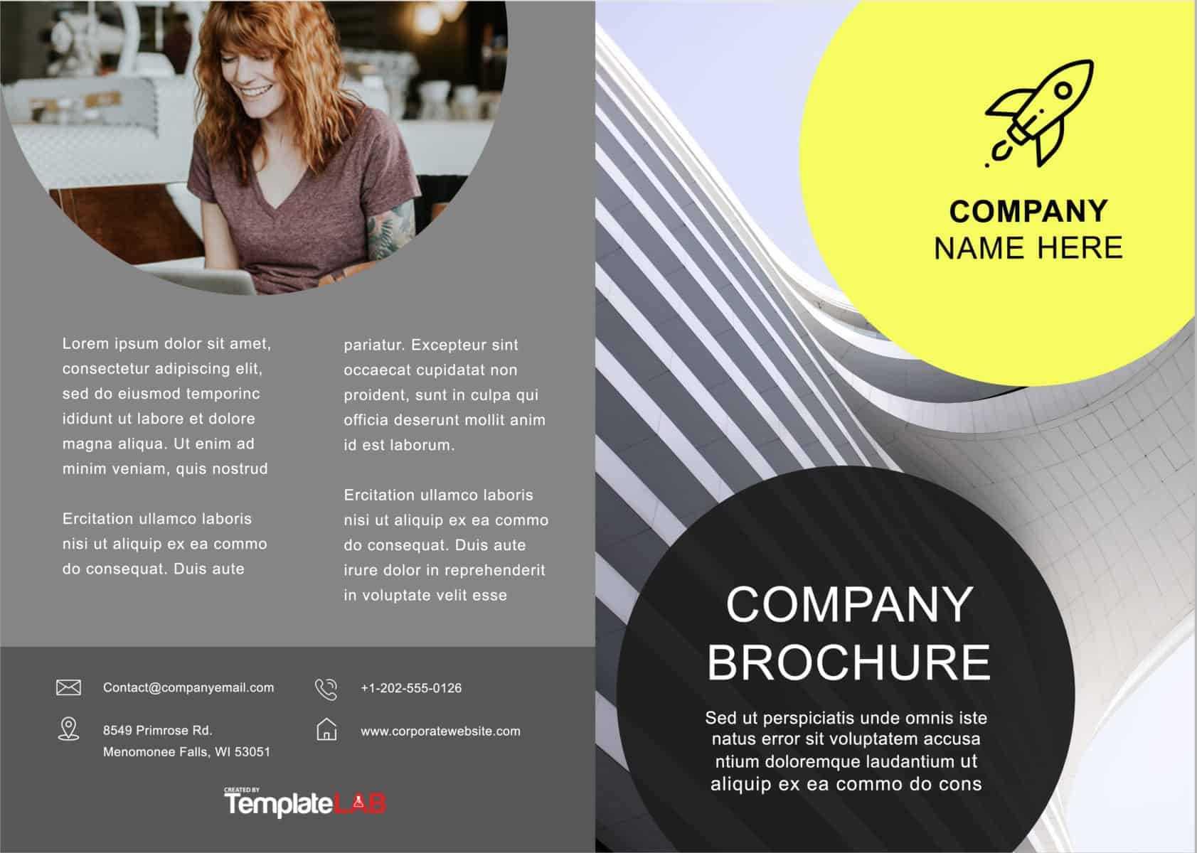 33 Free Brochure Templates (Word + Pdf) ᐅ Template Lab Throughout Free Brochure Template Downloads