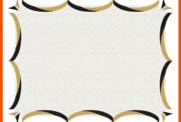 4+ Award Certificate Template – Bookletemplate within Award Certificate Border Template