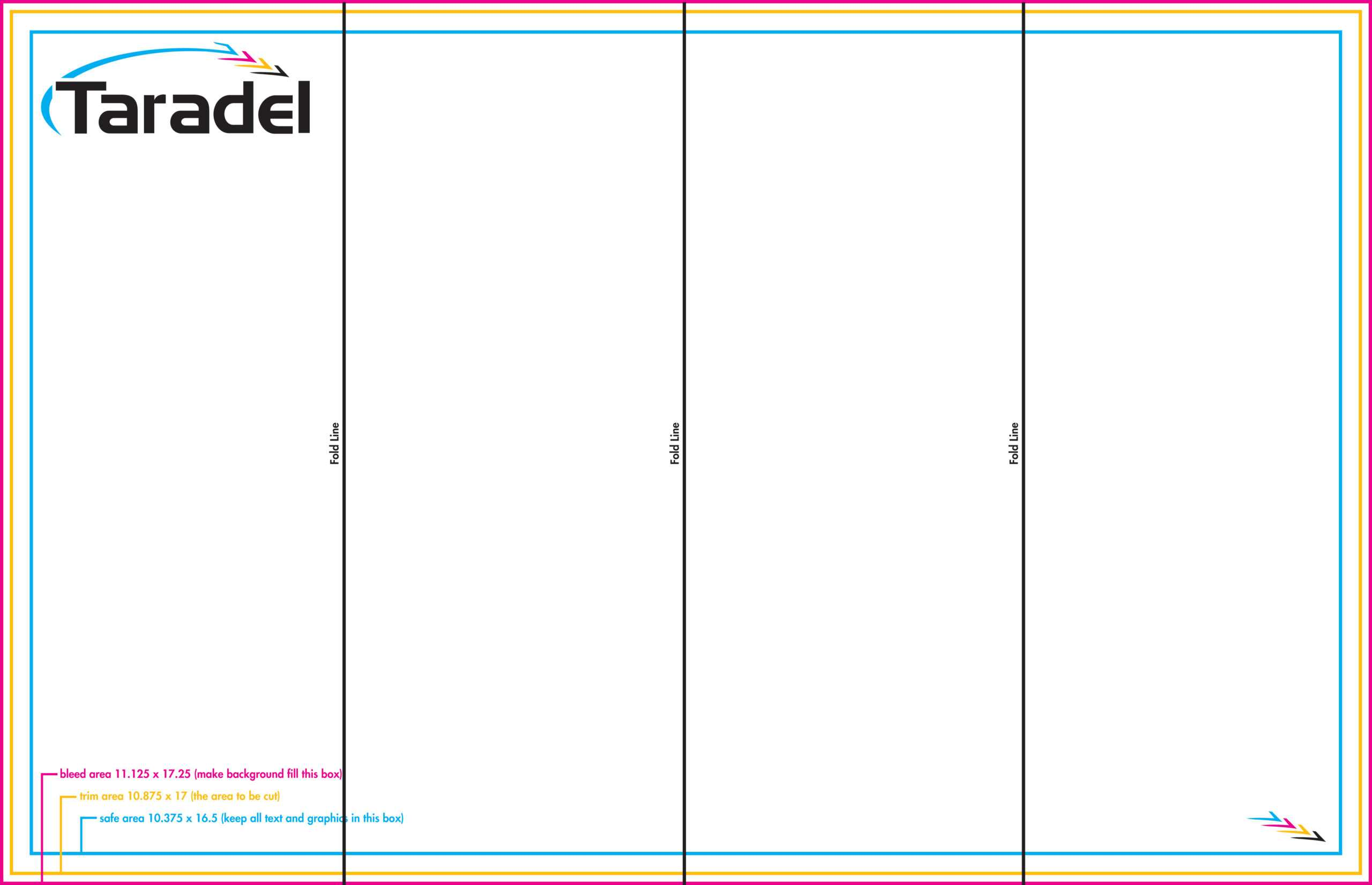 4 Fold Brochure Template (2) | Template Format With Regard To Brochure 4 Fold Template
