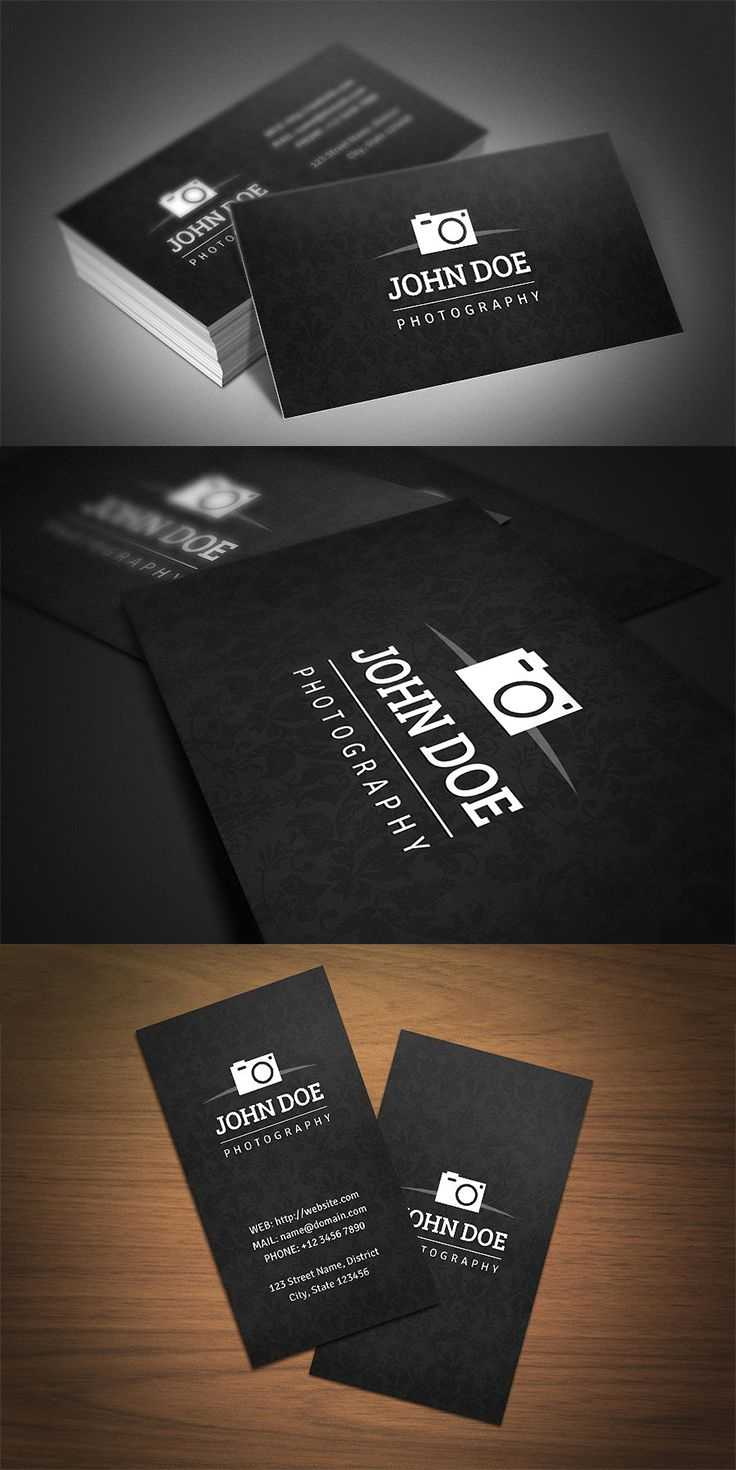 40 Photography Business Card Templates Inspiration throughout Photography Business Card Template Photoshop