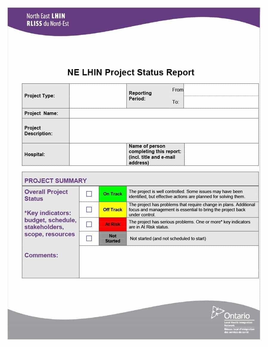 40+ Project Status Report Templates [Word, Excel, Ppt] ᐅ Intended For Daily Project Status Report Template