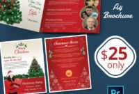 41+ Christmas Brochures Templates - Psd, Word, Publisher intended for Christmas Brochure Templates Free