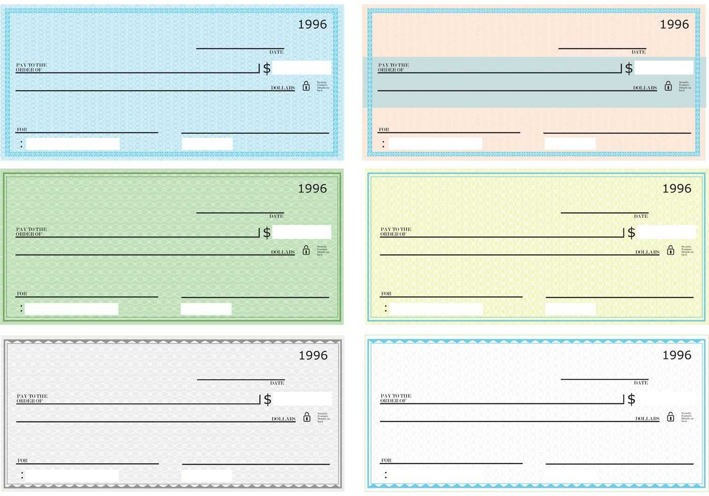 43+ Fake Blank Check Templates Fillable Doc, Psd, Pdf!! intended for Fun Blank Cheque Template