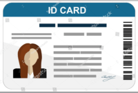 43+ Professional Id Card Designs – Psd, Eps, Ai, Word | Free regarding Faculty Id Card Template