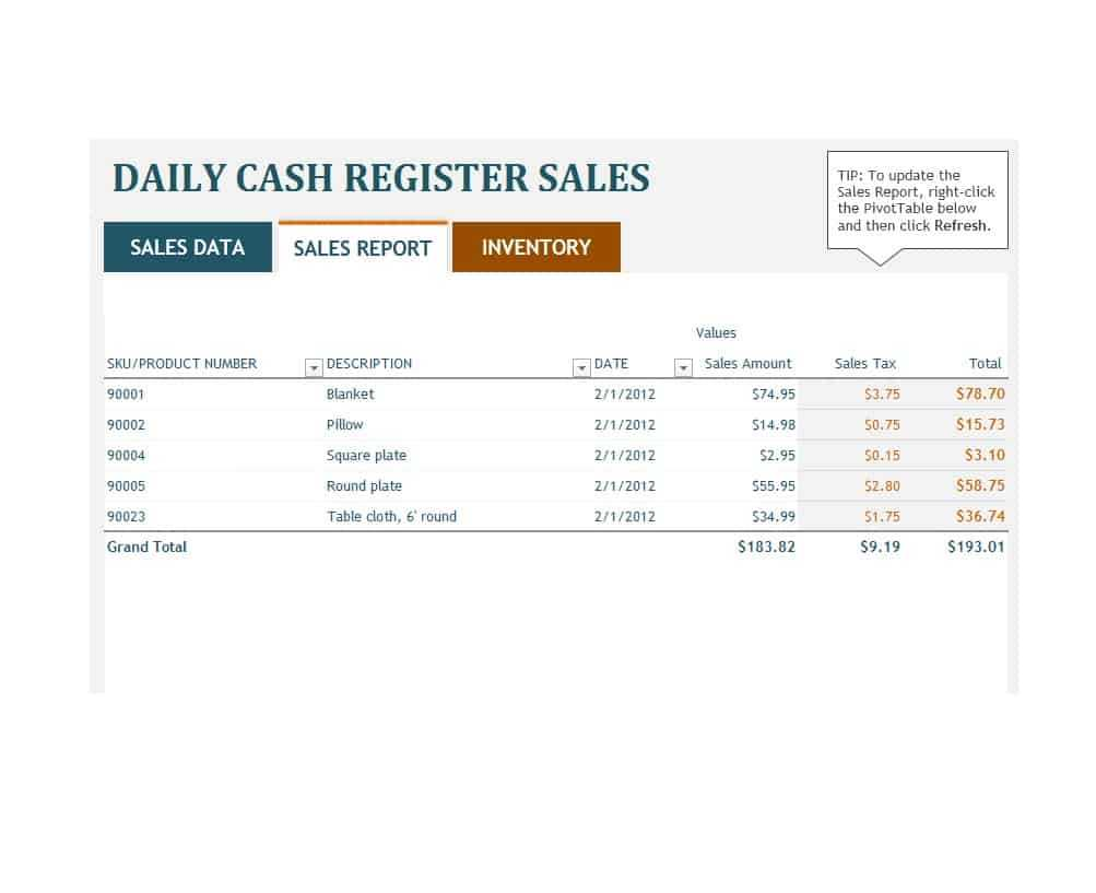 45 Sales Report Templates [Daily, Weekly, Monthly Salesman in Sales Visit Report Template Downloads