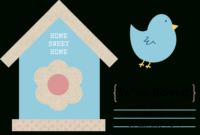 49 Free Change Of Address Cards (Moving Announcements) intended for Moving Home Cards Template