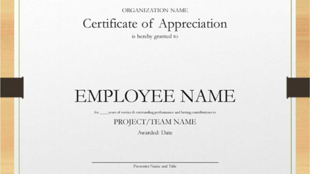 5+ Printable Years Of Service Certificate Templates – Word With Regard To Long Service Certificate Template Sample