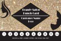 50+ Punch Card Templates – For Every Business (Boost with Business Punch Card Template Free