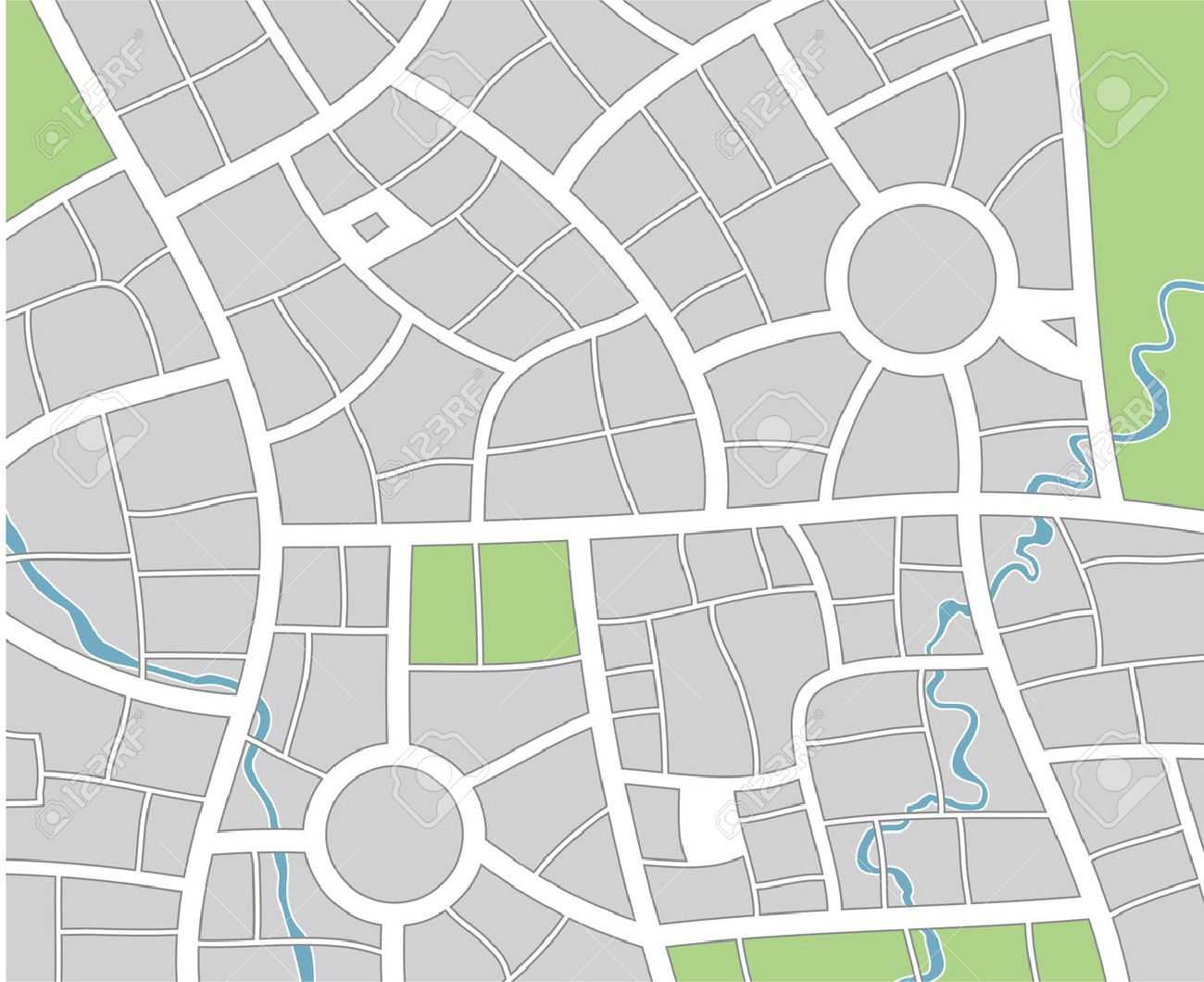 51 Thorough Blank Street Map Template Inside Blank City Map Template