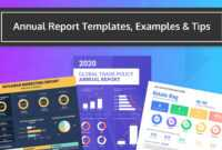 55+ Customizable Annual Report Design Templates, Examples & Tips regarding Annual Report Word Template