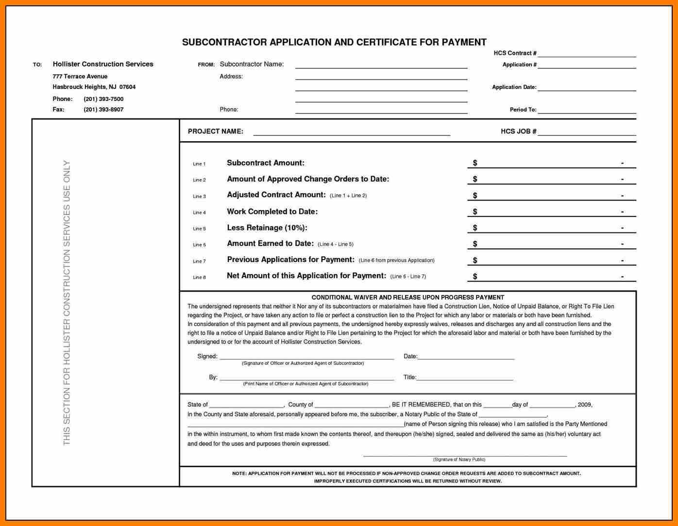 6+ Certificate Of Payment Template   Weekly Template With Certificate Of Payment Template
