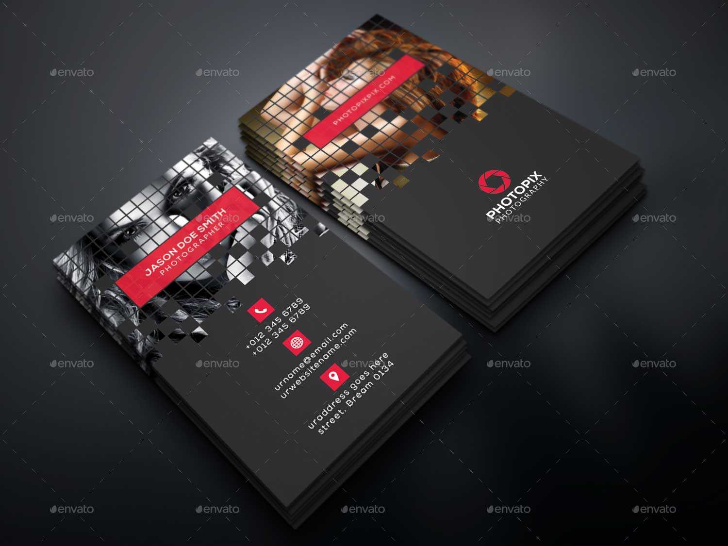 65+ Best Business Card For Photographers 2016 | Designmaz Intended For Free Business Card Templates For Photographers