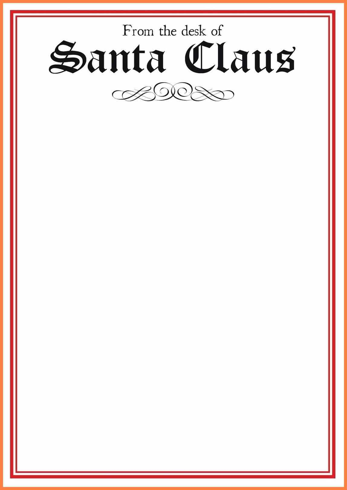7+ Free Letter From Santa Template In Word | Andrew Gunsberg Inside Santa Letter Template Word