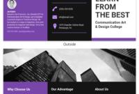75+ Brochure Ideas To Inspire Your Next Design Project regarding Brochure Templates For School Project