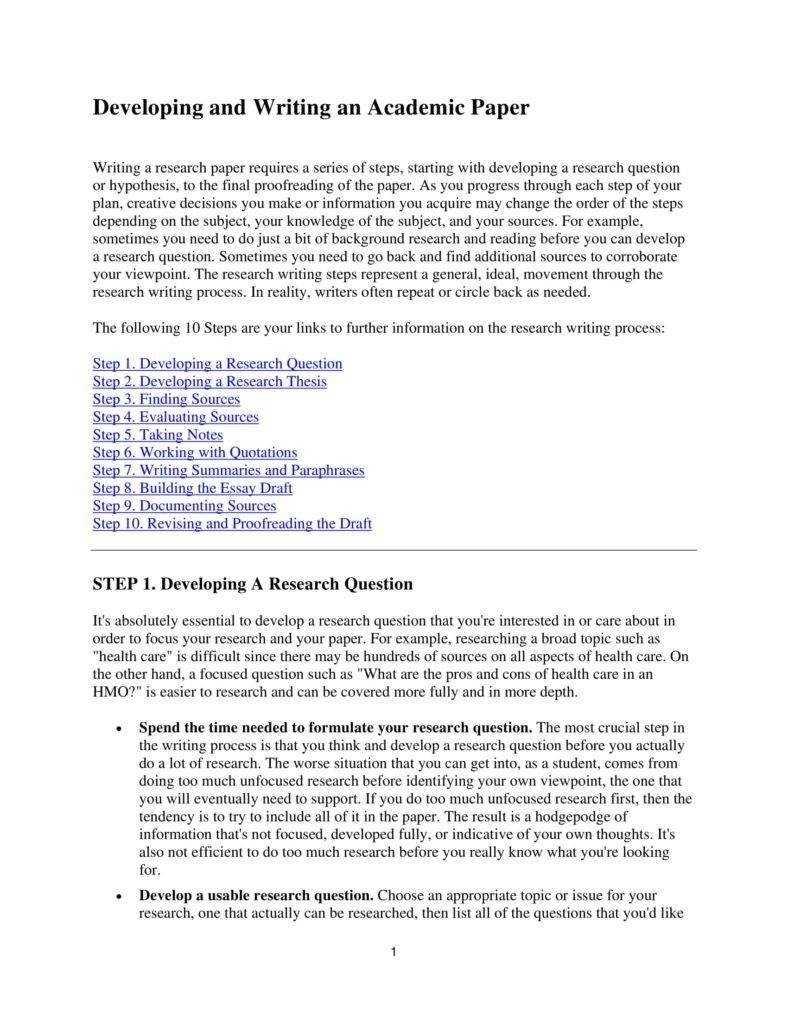 8+ Academic Paper Templates - Pdf   Free & Premium Templates regarding Scientific Paper Template Word 2010