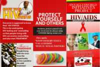 8 Best Photos Of Hiv Brochure Template – Hiv Aids Brochure within Hiv Aids Brochure Templates