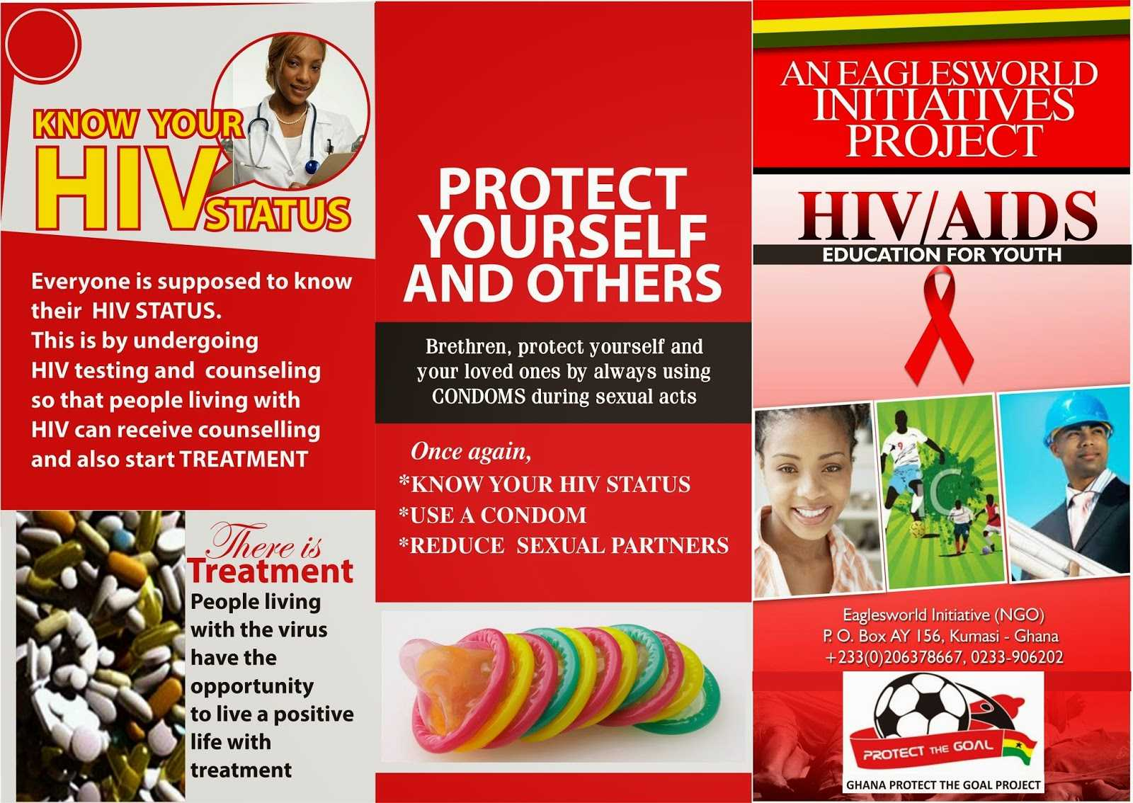 8 Best Photos Of Hiv Brochure Template - Hiv Aids Brochure Within Hiv Aids Brochure Templates