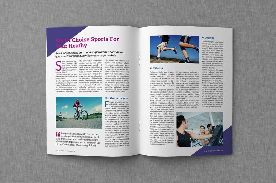 8+ Microsoft Word Magazine Templates - Word Pdf with regard to Magazine Template For Microsoft Word
