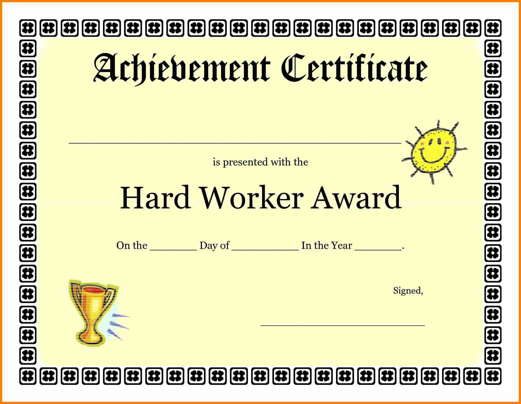 9+ Good Job Certificate Template | Quick Askips for Good Job Certificate Template