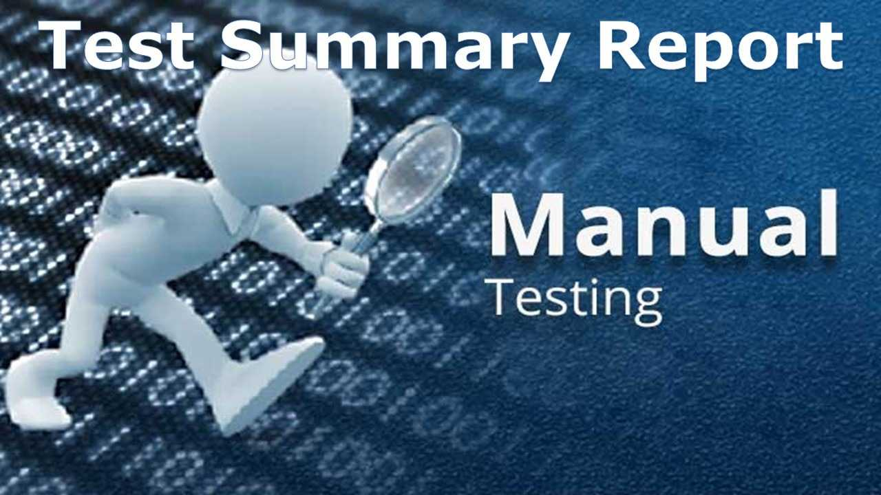 A Sample Test Summary Report - Software Testing Inside Test Closure Report Template