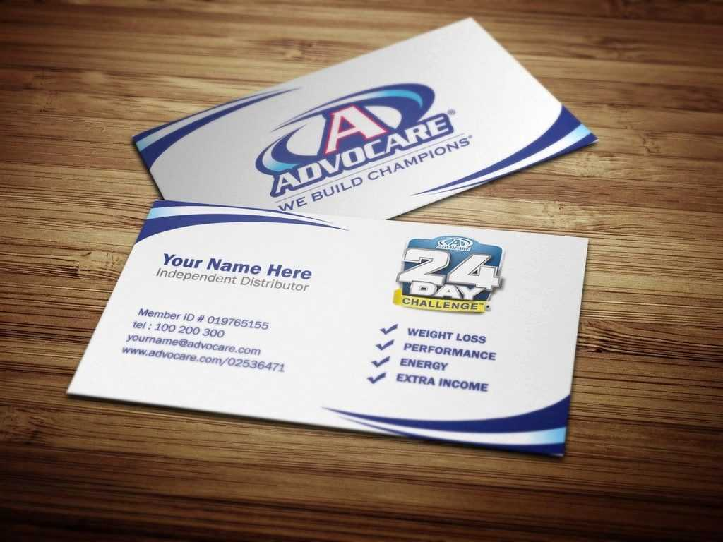 Advocare Business Card Template Cards Best Of 18 Vista Print For Advocare Business Card Template