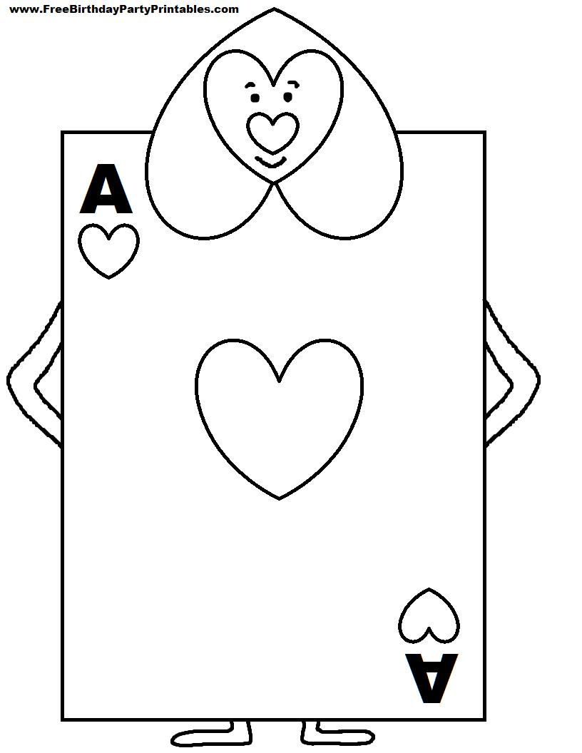 Alice In Wonderland Card Soldiers Printable Cutout In 2019 For Alice In Wonderland Card Soldiers Template