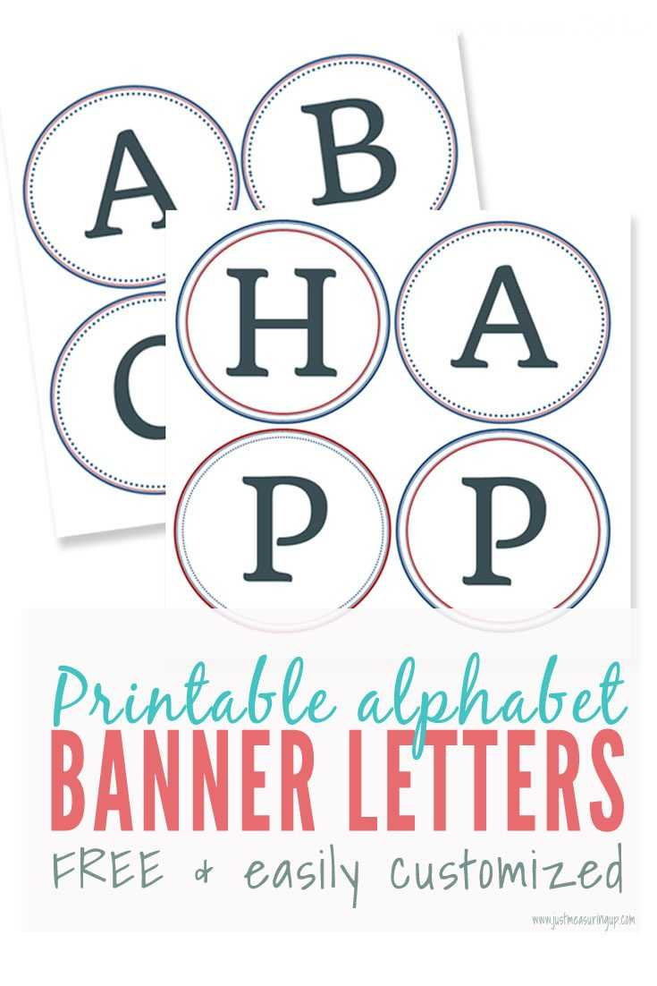Alphabet Letters To Print Out Free Printable Color For regarding Free Letter Templates For Banners