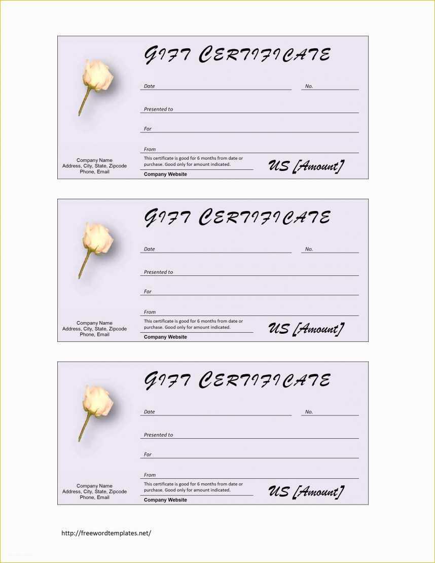 Amazing Salon Gift Certificate Template Ideas Hair Free throughout Salon Gift Certificate Template