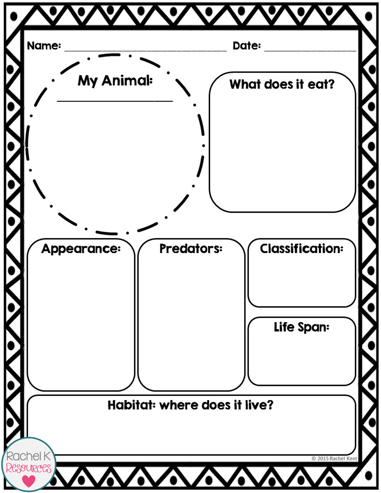 Animal Report Template | Report Template, Information Report Intended For Template For Information Report