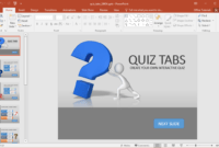 Animated Powerpoint Quiz Template For Conducting Quizzes with How To Create A Template In Powerpoint