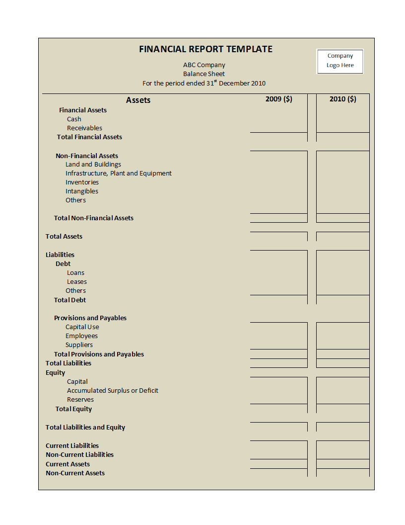 Annual Financial Report Template Word - Atlantaauctionco Within Annual Financial Report Template Word
