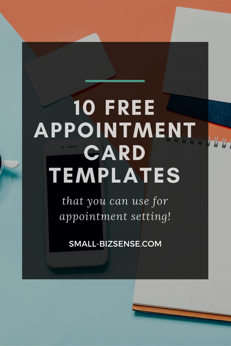 Appointment Card Template: 10 Free Resources For Small Inside Medical Appointment Card Template Free