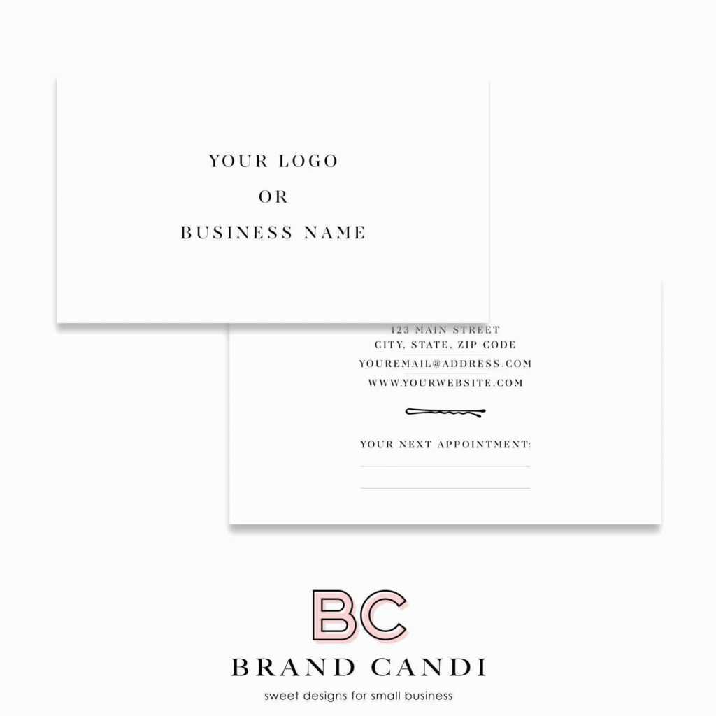 Appointment Card Template 650*650 - Template For Business Intended For Appointment Card Template Word