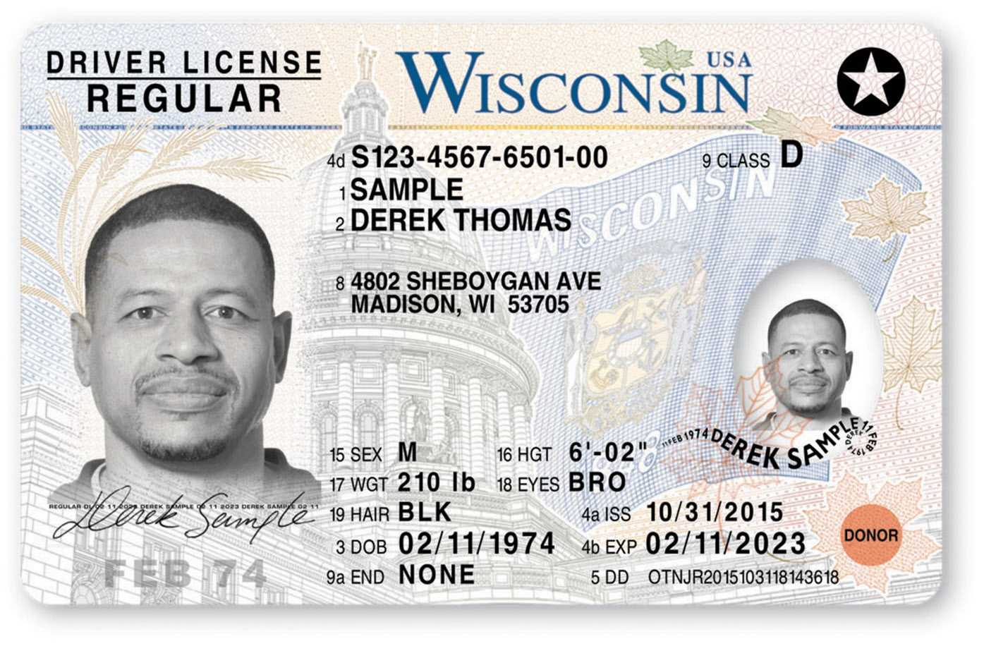 "Are Wisconsin's Driver Licenses ""most Secure In The Nation inside Georgia Id Card Template"