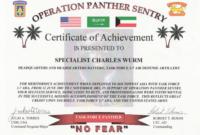 Army Certificate Of Appreciation Wording | Doyadoyasamos in Army Certificate Of Appreciation Template