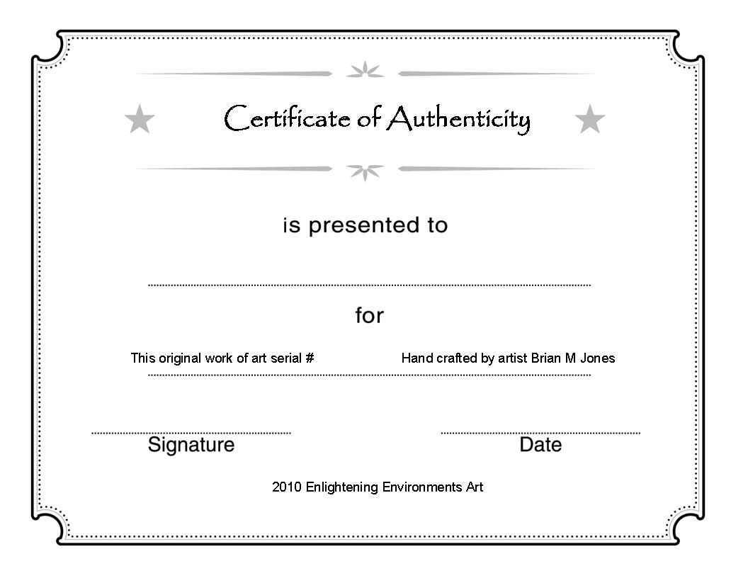 Artcertificate1 | Blank Certificate Template, Certificate With Regard To Art Certificate Template Free