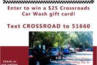 Auto Detailing Gift Certificate Template Brochure Templates within Automotive Gift Certificate Template