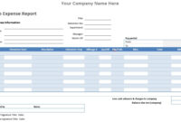 Auto Expense Report Template – Microsoft Word Templates regarding Ms Word Templates For Project Report