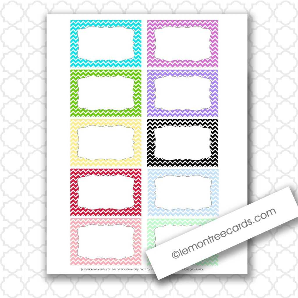 Avery Index Card Template 650*650 - Printable Note Card inside Blank Index Card Template