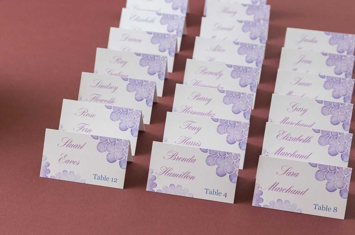 Avery Place Cards Wedding - Major.magdalene-Project with Amscan Templates Place Cards