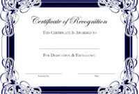 Award Templates For Microsoft Publisher | Besttemplate123 for Award Certificate Border Template