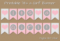 Baby Shower Banner Png – (++ Png Collections) with regard to Diy Baby Shower Banner Template