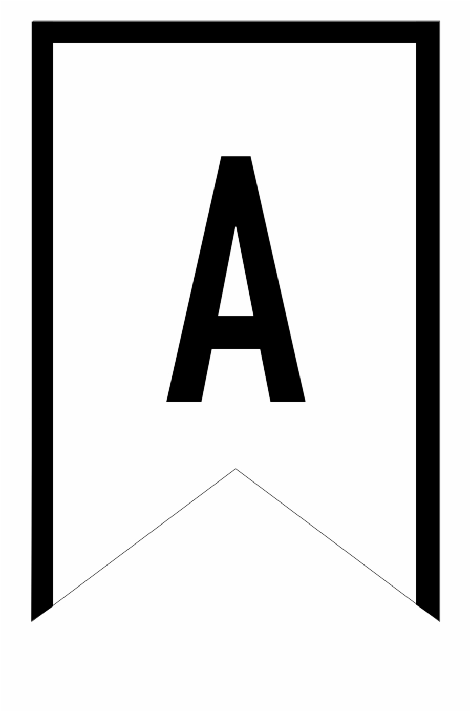 Banner Templates Free Printable Abc Letters - Printable For Letter Templates For Banners